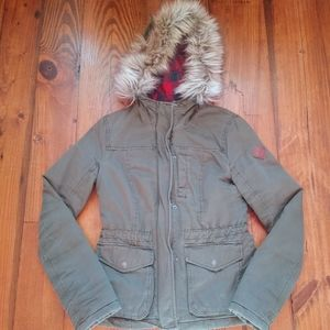 Christmas Deal!!❄️ Hollister Green Winter Coat